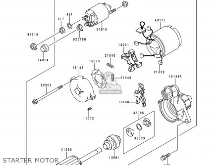 Kawasaki Kaf620 A4 Mule2510 1998 Europe Parts Lists And Schematics