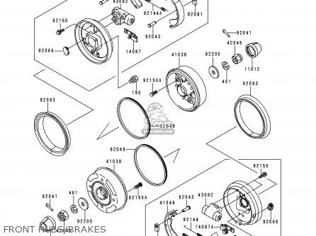 Kawasaki Kaf620 A6 Mule2510 2000 Usa Parts Lists And Schematics