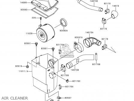 Kawasaki Kaf620 C2 Mule 1995 Usa Parts Lists And Schematics