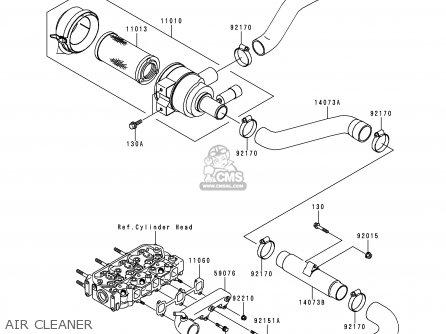 Kawasaki Kaf950 A1 Mule2510 2000 Usa Diesel Parts Lists And Schematics