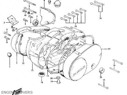 Kawasaki Kd100 M3 1978 Canada Parts Lists And Schematics