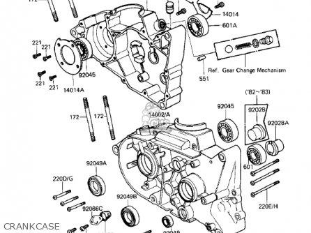 Kawasaki Kd80 M4 Kd80 1983 Parts Lists And Schematics