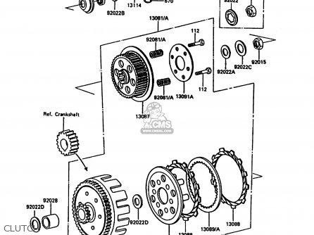 Wiring Diagram 1990 Kawasaki Kdx 200