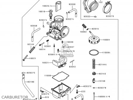 kawasaki kdx200 e3 1991 united kingdom al parts list