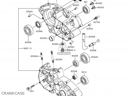 Kawasaki Kdx 200 Engine Parts Diagram