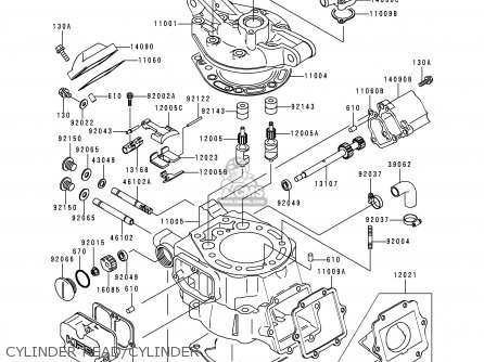 Kawasaki Kdx200 H6 2000 Usa Parts Lists And Schematics