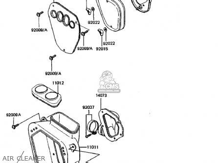 Kawasaki Kdx250 B3 Kdx250 1983 Usa Canada Parts Lists And Schematics