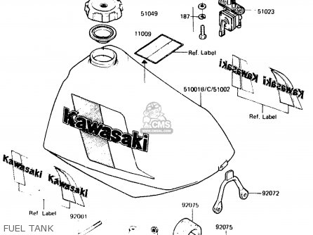 Kawasaki Kdx250 C2 1984 Australia Parts Lists And Schematics