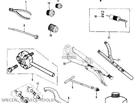 Kawasaki Kdx420-b1 Kdx420 1981 United Kingdom Usa California Export Special Service Tools