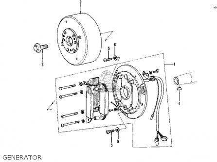 Kawasaki Kdx450-a1 Kdx450 1982 United Kingdom Usa California Export Generator