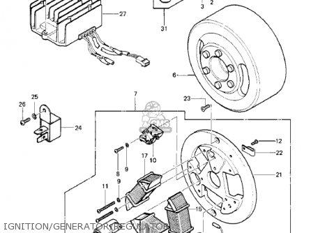 kawasaki ke100 a10 ke100 1981 canada parts list. Black Bedroom Furniture Sets. Home Design Ideas