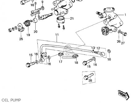 Kawasaki Ke100 A5 Ke100 1976 Canada Parts Lists And Schematics