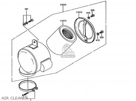 kawasaki ke100-b11 1992 usa canada parts list partsmanual ... 2001 gmc sierra ke light wiring diagram