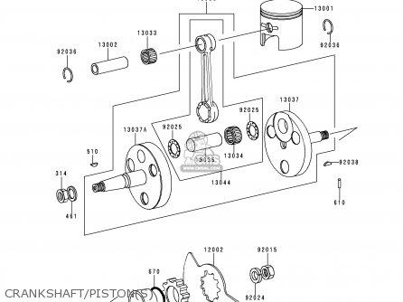 Kawasaki Ke100 B18 1999 Usa Parts Lists And Schematics