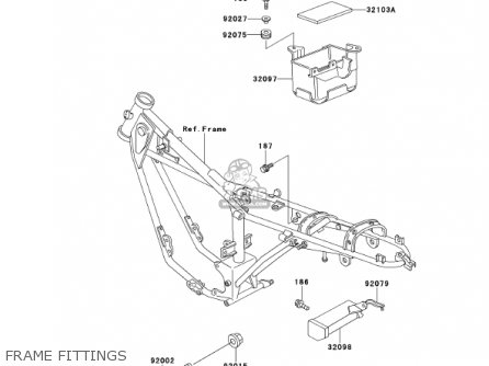 Kawasaki Ke100 B20 Ke100 2001 Usa Canada Parts Lists And Schematics