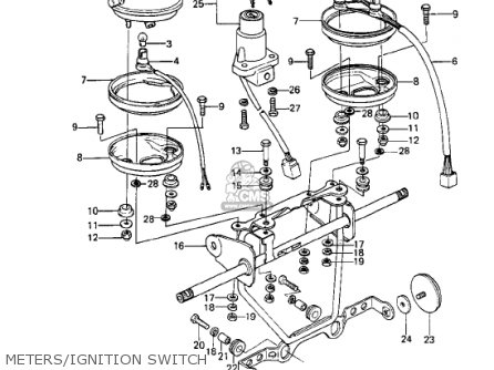 1978 Ke 250 Wiring Diagram