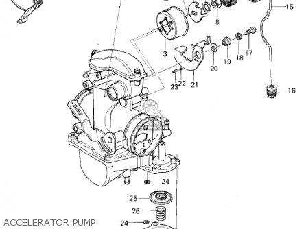 Kawasaki Kl250a2 Klr250 1979 Canada Accelerator Pump