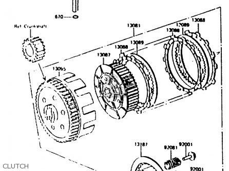 Bike 6 Cylinder With Piston Engine