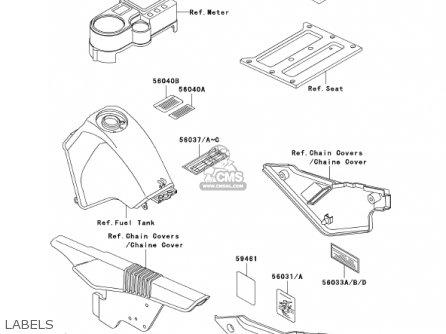 kawasaki kl650a16 klr650 2002 usa california canada parts lists and Kawasaki Bayou 300 Wiring Diagram kawasaki kl650a16 klr650 2002 usa california canada labels