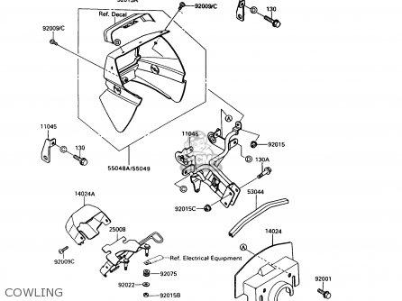 Kawasaki Klx650 Klx 650 Electrical Wiring Harness Diagram Schematic