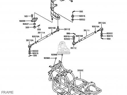 Suzuki Quadrunner 250 Engine Diagram likewise Wire Gauges  s furthermore Diagram Of Kawasaki Atv Parts 1990 Klf220 A3 Bayou as well Kawasaki Klf300 Bayou Wiring Diagram 4 X also Kawasaki Bayou 300 Wiring Diagram. on kawasaki bayou 185 wiring diagram
