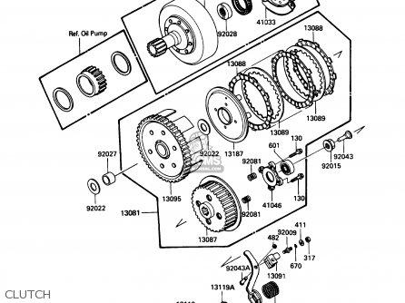 Kawasaki Klf185 A2 Bayou185 1986 Usa Canada Parts Lists And Schematics