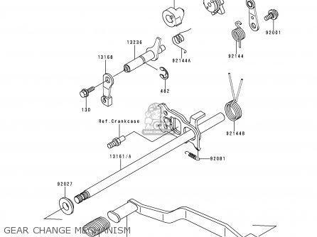 kawasaki klf220 a9 bayou220 1996 usa canada parts lists. Black Bedroom Furniture Sets. Home Design Ideas