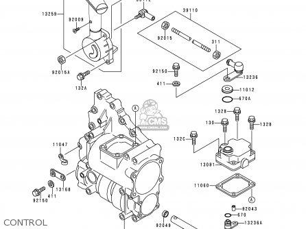 Kawasaki Klf300 C12 Klf3004x4 2000 Europe Uk As Parts Lists And
