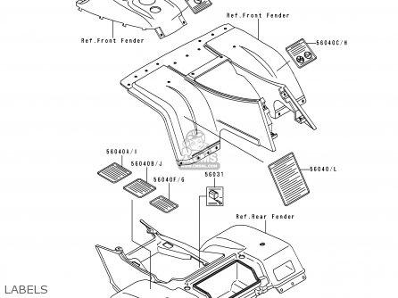 Partslist further Partslist likewise Parts besides Partslist moreover Partslist. on kawasaki klf 300 air cleaner