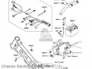 Kawasaki Klx110 Daf Klx110l 2010 Usa Parts Lists And Schematics