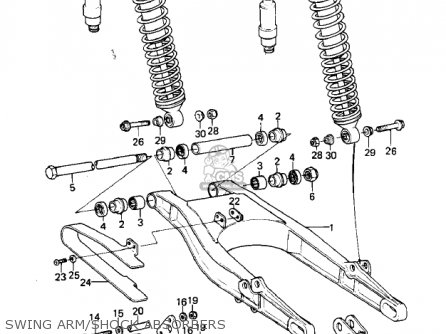 Engine Rocker Arms Diagram
