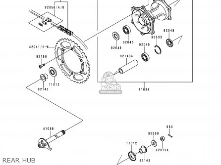 Yamaha Dirt Bike Parts Diagram