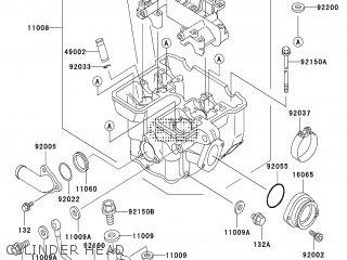 Kawasaki Klx300 A8 2003 Europe France Parts Lists And Schematics