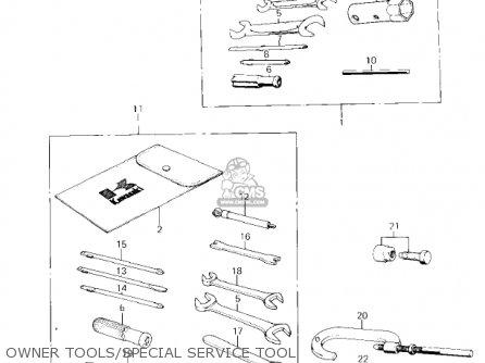 Kawasaki Km100-a4 1979 Usa Canada   Mph Kph Owner Tools special Service Tool