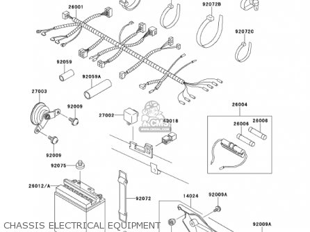 1986 honda trx 125 wiring diagram kawasaki kmx125-a14 kmx125 2001 / kph parts list ...