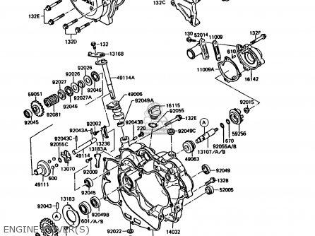Kawasaki Kmx125 B2 1987 United Kingdom Fr Parts Lists And Schematics
