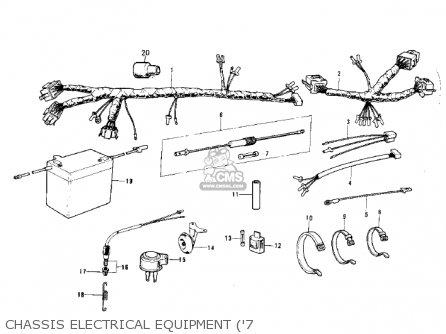 kawasaki ks125 1974 usa canada parts lists and schematics rh cmsnl com Kawasaki KX80 1972 Kawasaki 125