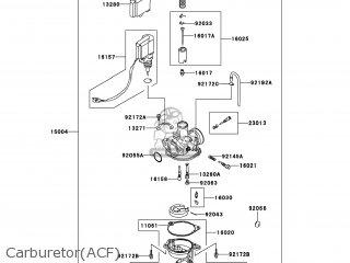 kawasaki ksf90 acf kfx90 2012 usa parts lists and schematics Chinese 110Cc Four Wheeler Carburetor carburetor acf