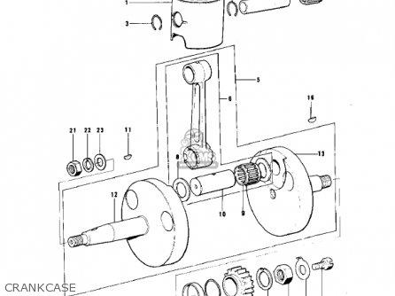1975 Kawasaki Kt250 Wiring Schmatic