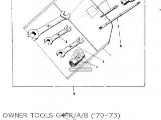 Kawasaki Kv100-a7 1976 Usa California Owner Tools G4tr a b 70-73