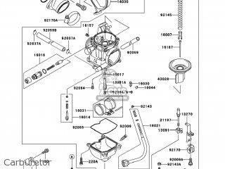 Kawasaki KVF300-A4 PRAIRIE300 2002 USA / 4X4 parts lists and ... on