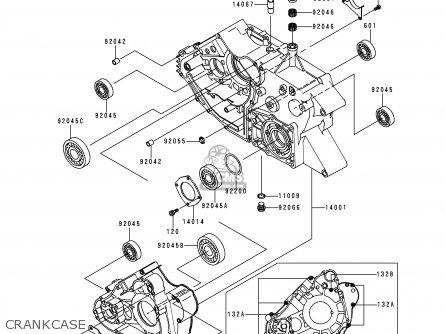 kawasaki prairie 400 engine diagram mule 610 xc engine