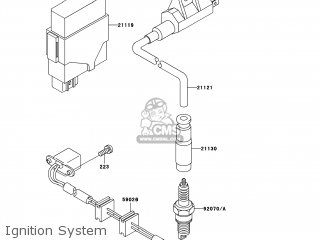 kawasaki kvf400 c3 prairie400 2001 usa 4x4 parts lists and schematics Kawasaki 400 Street Bike kawasaki kvf400 c3 prairie400 2001 usa 4x4 ignition system