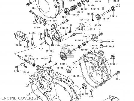 Kawasaki Kx 250 Engine