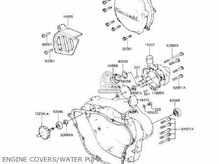 Kawasaki Kx125 B2 Kx125 1983 Usa Canada Parts Lists And Schematics