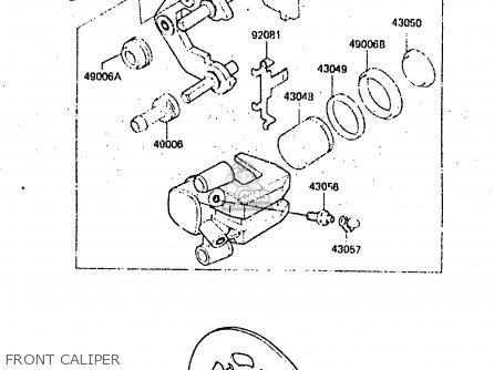 Kawasaki Kx125 C1 1984 United Kingdom Al Usa Cn Parts Lists And