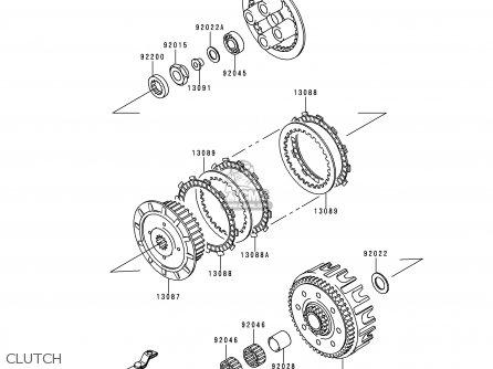 Kx 125 Parts