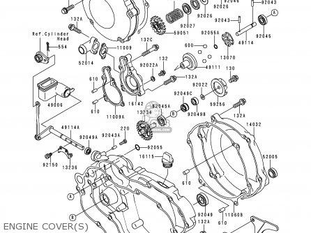 kawasaki kx125 l2 2000 usa canada parts lists and schematics rh cmsnl com 17 HP Kawasaki Engine Diagram Kawasaki Fuel Injected Engine Diagram