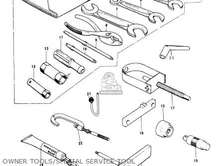 Kawasaki Kx250 A5 1979 Parts Lists And Schematics
