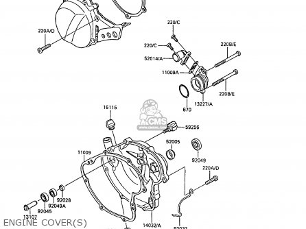 Kawasaki Kx 60 Engine Part Diagram